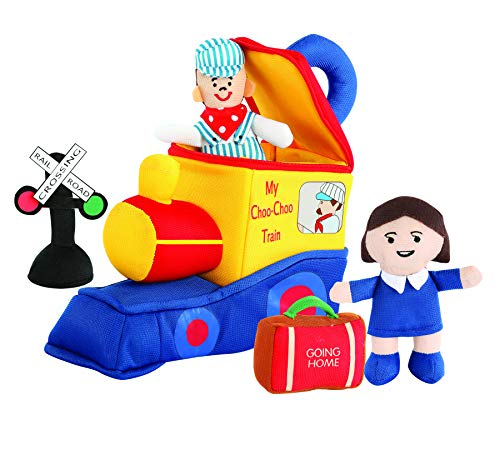 - Etna My Choo Choo Train Play Set with Sound | Soft Plush Locomotive Engine Car | Fun Baby Infant Toddler Kids Toys | Early Educational Activity Play for Boys & Girls. Perfect for Party Favors