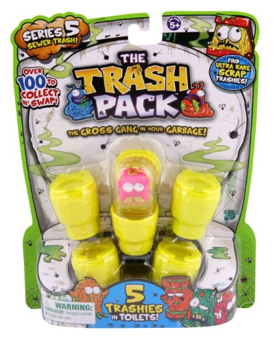 Trash Pack Series #5 Figure, 5-Pack from Trash Pack