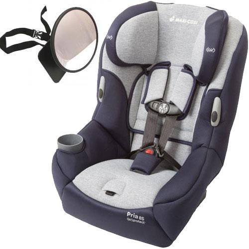 Maxi-Cosi – Pria 85 Convertible Car Seat w Back Seat Mirror – Brilliant Navy