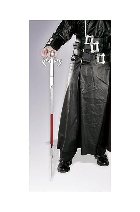 evil needle walking stick halloween cane prop