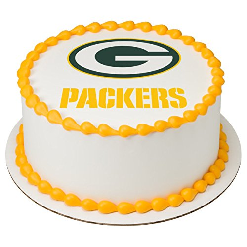 NFL Green Bay Packers Licensed Edible 8