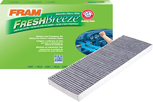 FRAM FCF9119A Fresh Breeze Cabin Air Filter with Arm & Hammer