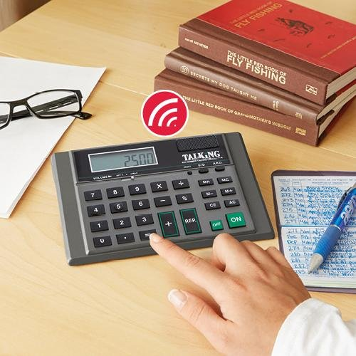 8 Digit Talking - S Calculator