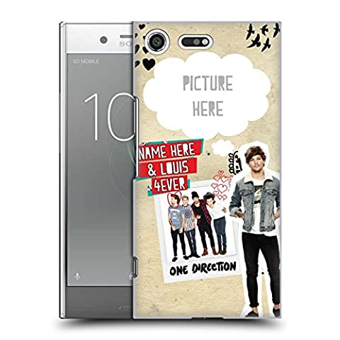 Custom Customized Personalized One Direction 1D Louis 4ever I Ship Us Hard Back Case for Sony Xperia XZ (Us Premium Hcg)