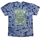 Grateful Dead Aiko Tie Dyed Blue T-shirt by Dye The Sky