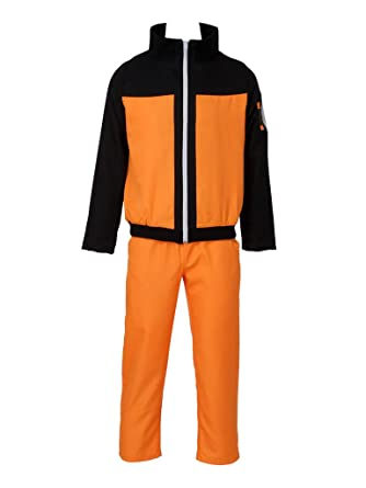CosFantasy Naruto Shippuden Uzumaki Cosplay Costume mp002181 (XXL)  sc 1 st  Amazon.com : naruto costums  - Germanpascual.Com