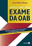 capa de Prática Penal Para Exame da OAB