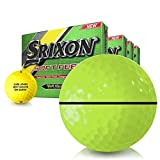Srixon Soft Feel Yellow AlignXL Personalized Golf Balls - Buy 3 DZ Get 1 Free