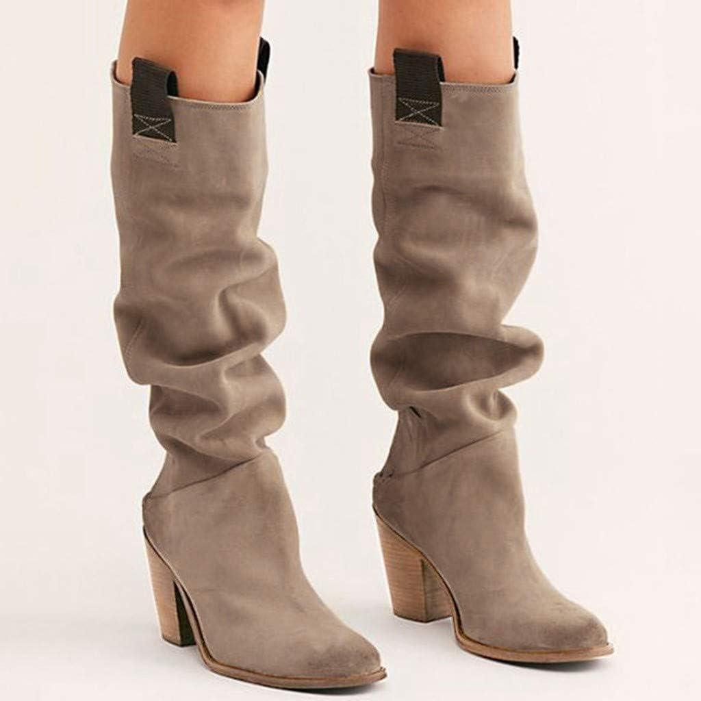 Dainzuy Women's Boots Winter Over Knee