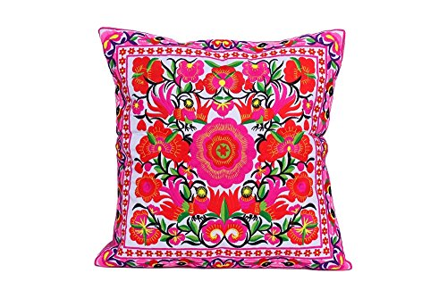 ethnic-lanna-pink-blossom-handmade-cushion-cover-with-hmong-embroidered-design