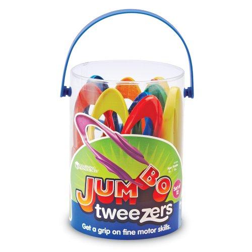 51ltTxaJM5L - Learning Resources Jumbo Tweezers Set Of 12