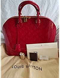 Louis Vuitton Alma MM Monogram Vernis (Xl, Alma MM Monogram Vernis by Louis Vuitton)