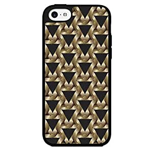 Triangle Pattern Hard Snap on Phone Case (iPhone 4/4s)