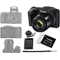 Canon PowerShot SX420 IS Digital Camera (Black) - International Version