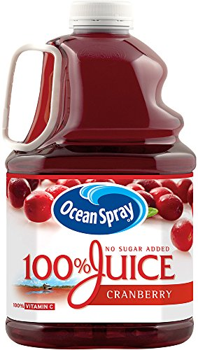Ocean Spray 100% Juice, Cranberry, 3 Liter Bottle