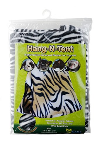 51ltVIpYsrL - Ware Double Fleece Hang-N-Tent Small Pet Sleeper (Colors May Vary)