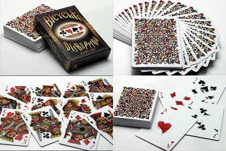 Black Starlight Sparkle (Bicycle Starlight Shooting Star Playing Card)