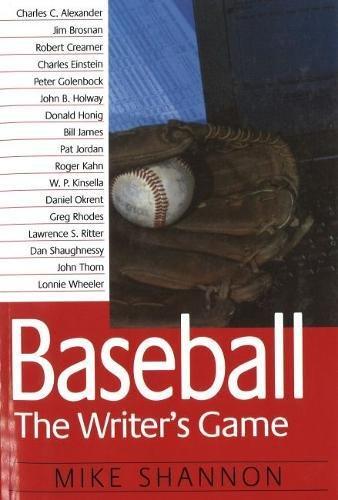 Baseball: The Writer's Game pdf epub