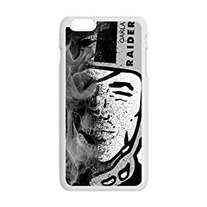 WAGT Qakland Raiders Cell Phone Case for Iphone 6 Plus Kimberly Kurzendoerfer