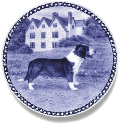 Drever Lekven Design Dog Plate 19.5 cm  7.61 inches Made in Denmark NEW with certificate of origin PLATE  7452