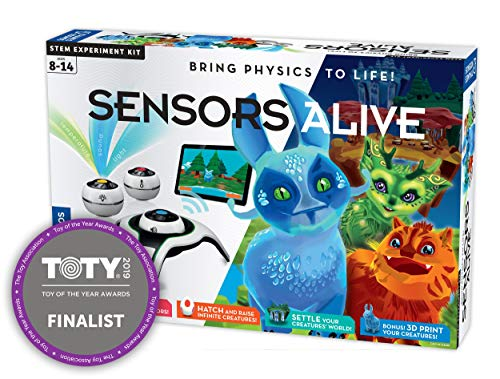 Thames & Kosmos Sensors Alive: Bring Physics to Life Science Experiment Kit
