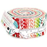 """Moda Handmade by Bonnie and Camille Jelly Roll, 40 2.5"""" Strips"""