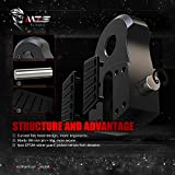 MZS Winch Shackle, Flat Towing Hook Mount with Iron