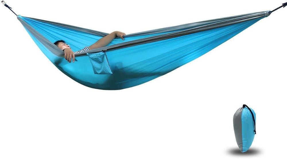 MONEYY Piscina hamacas colgadas de luz Exterior Cama Doble Giro como paracaídas de 300 * 200cm.