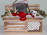 Rustic Maine Lobster Trap Card/Gift Box – Red Oak