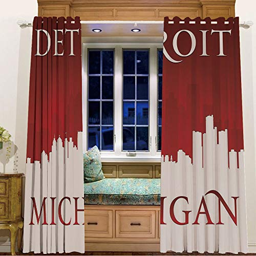 iPrint Finel Kids Curtains for Living Room Bedroom Window Curtains Baby Room,105