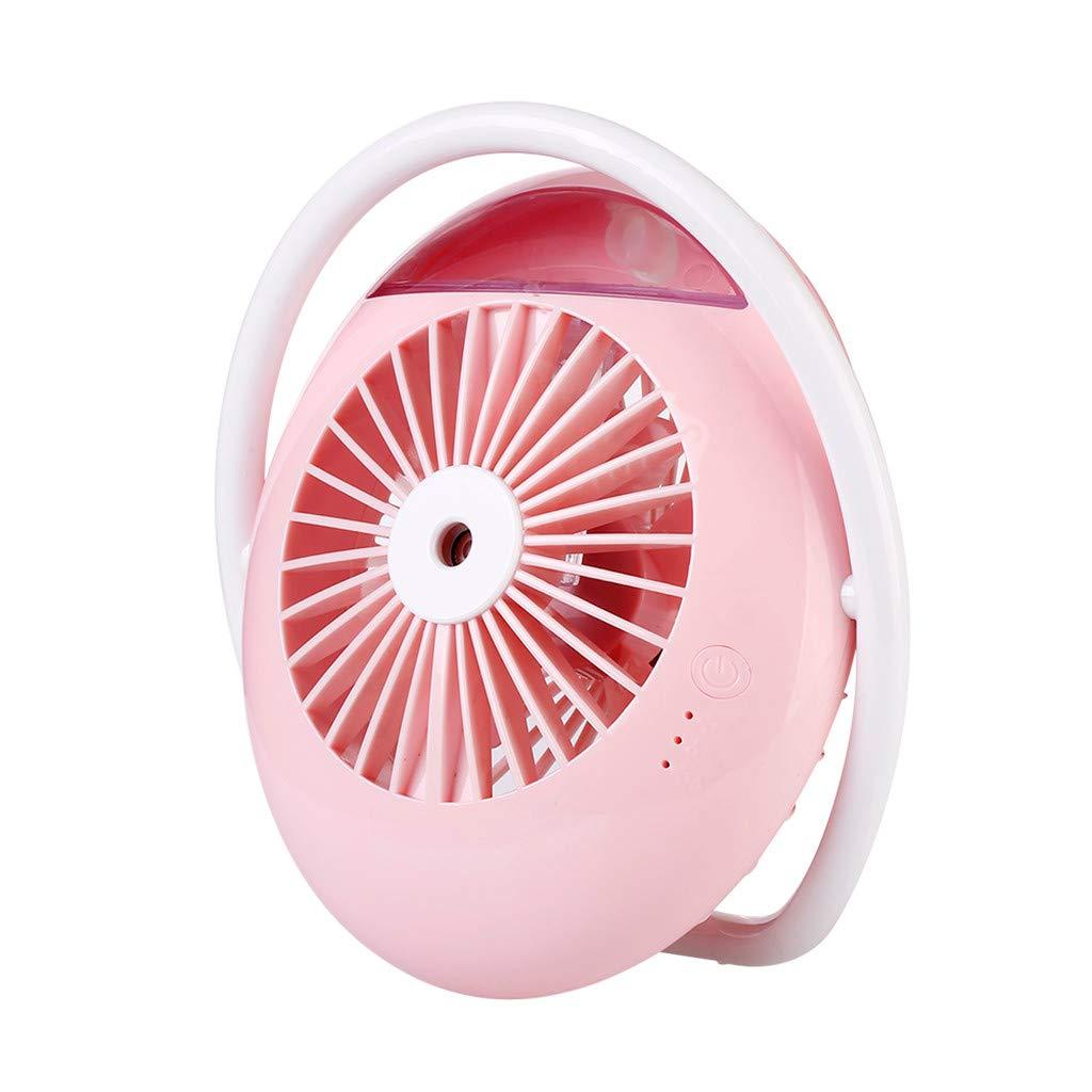 Weiliru Spray Humidification Fan Mini Car Office Air Humidifier USB Charging Desktop Portable Fan