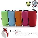 Portable Baby Infant Feeding Milk Food Bottle Thermal Warmer Bag Carrier Storage Holder (5 pcs multi color)