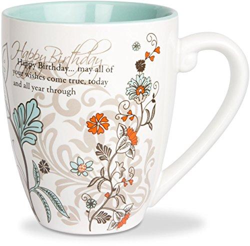 Coffee Mug Birthday (Mark My Words Happy Birthday Mug, 4-3/4-Inch, 20-Ounce Capacity)