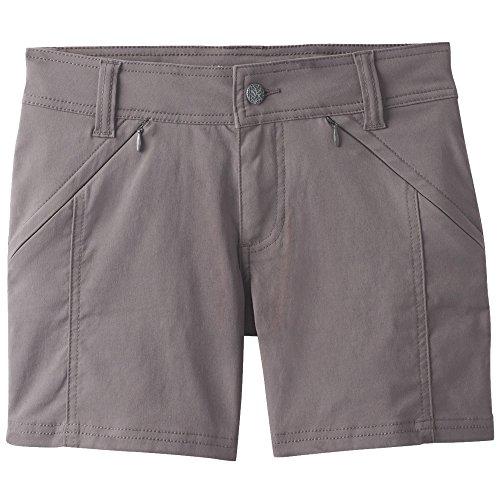 Climbing Cotton Shorts - prAna Hallena Shorts, Moonrock, Size 10
