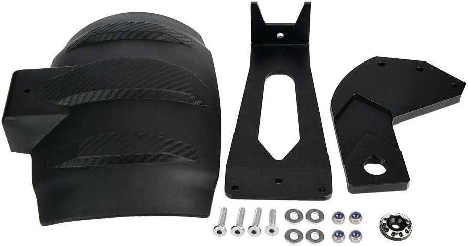 Garde-boue 1 PC de modification de garde-boue arri/ère moto noir fender pour BMW.