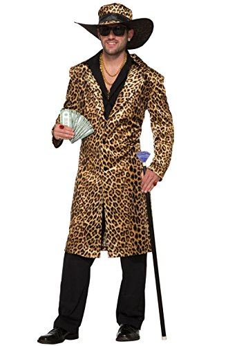 Funky Cat Leopard Pimp Adult Costume]()