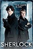 GB eye Sherlock Door Maxi Poster, Multi-Colour