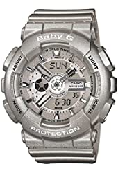 Casio Baby-G BA-110-8A Silver Watch