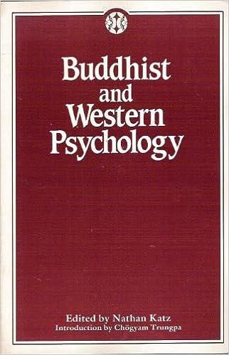 Katz Buddhist Western Psych cover art