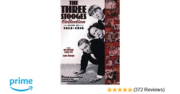 Amazon.com: The Three Stooges Collection, Vol. 1: 1934-1936 ...