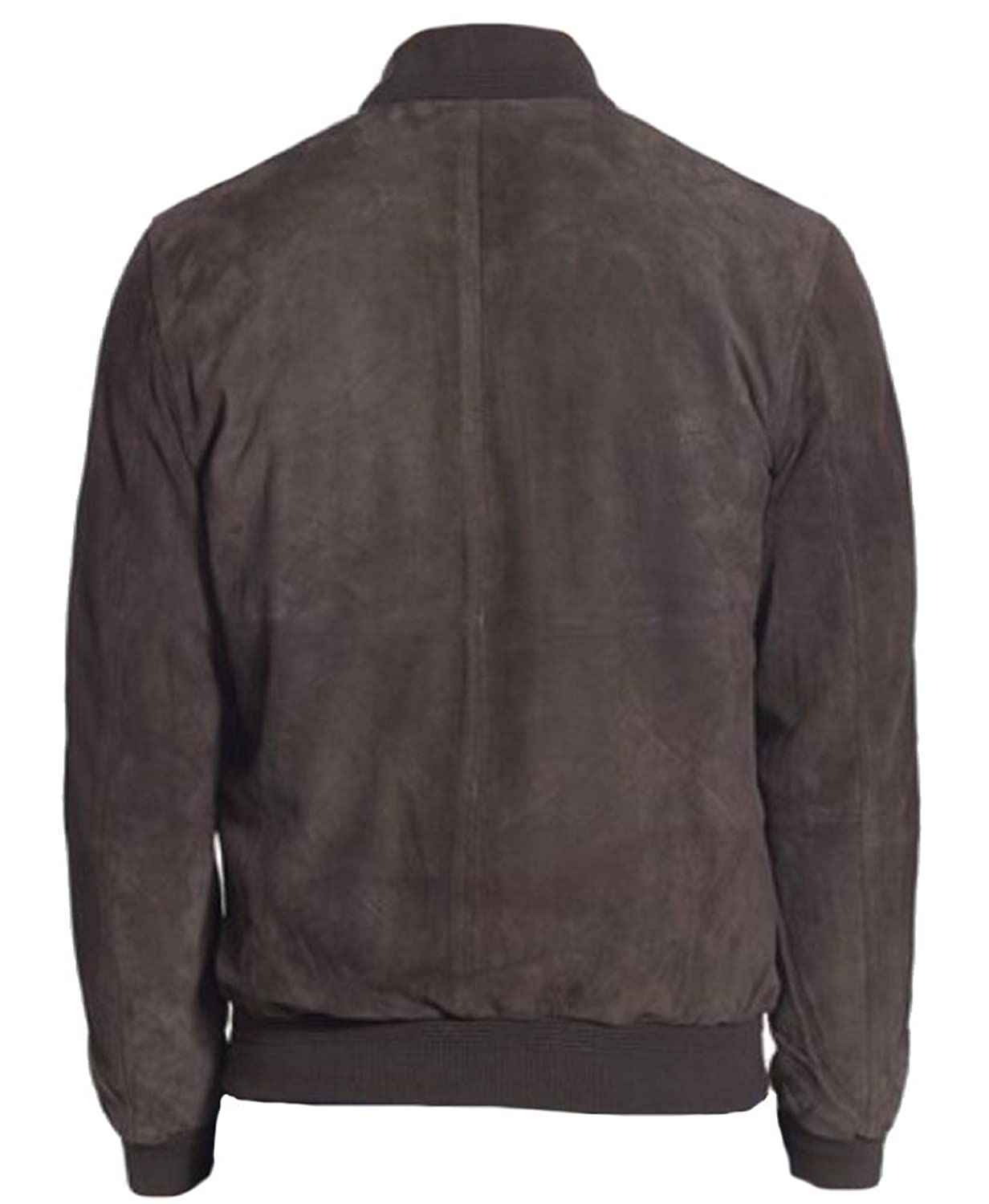 Classyak Men's Fashion Bomber Style High Quality Real Leather Jacket