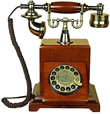 Europa Retro Antiguos Rotativos Teléfono De Línea Barras De Mesa ...