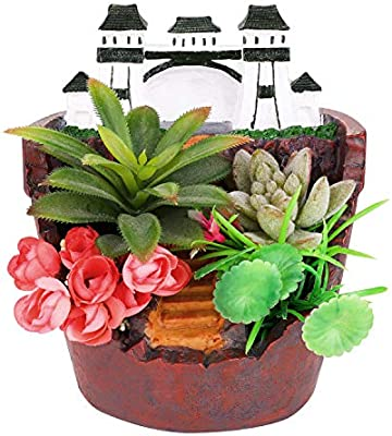 Akarden Fairy Garden Flower Plants Succulent Pot Fairy Design