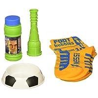 Leo Messi FootBubbles Starter Pack: Practique sus destrezas de malabarismo con estas burbujas diseñado para ser juggled con sus pies como una pelota de fútbol. Imita los malabares de fútbol de Messi con FootBubbles