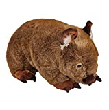 Minkplush Australian Wombat Large Stuffed Animal Plush Toy - Big Russ - Brown