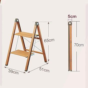FJX Taburete, Banco de escalera estrecha para el hogar Escalera de espiga plegable de aluminio Taburete ascendente Estante de flores,A: Amazon.es: Bricolaje y herramientas