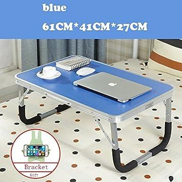 JINSHENG Mesas y sillas Plegables mesas para Ordenadores portátiles los dormitorios de la Universidad Simples mesas escritorios pequeñas mesas,De Espesor de ...