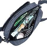Lug Carousel XL Cross Body Bag, Midnight Black