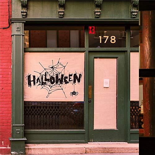 RTLJN Wall stickersPegatinas de pared de Halloween decoración del hogar personalidad Fondo pegatinas de pared 29 42cm ()
