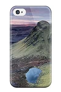 New Premium Flip Case Cover K Wallpapers Landscape Skin Case For Iphone 4/4s